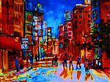 市后雨装饰画