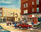 城市风光照片 - 蒙克兰街曲棍球游戏蒙特利尔都市风光