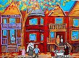 蒙特利尔回忆再打和家庭装饰画