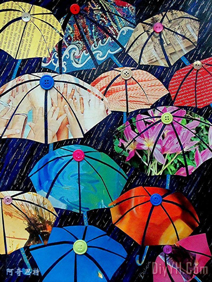 雨天人物 - 雨天人物装饰画