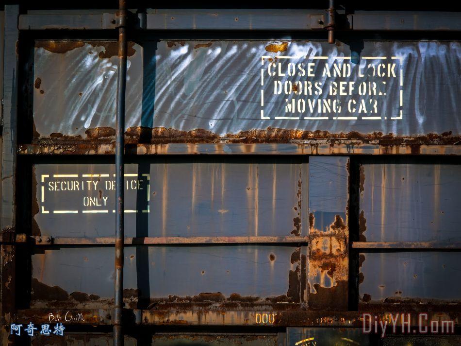 旧铁路棚车