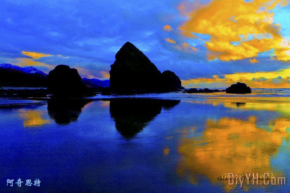 海景观两 - 海景观两装饰画