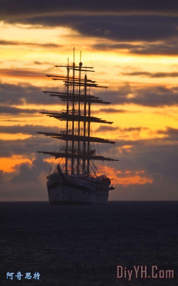 高大的船舶 - 高大的船舶装饰画