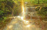 琼斯瀑布的日落装饰画