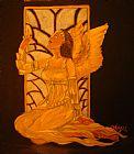 金色的天使装饰画