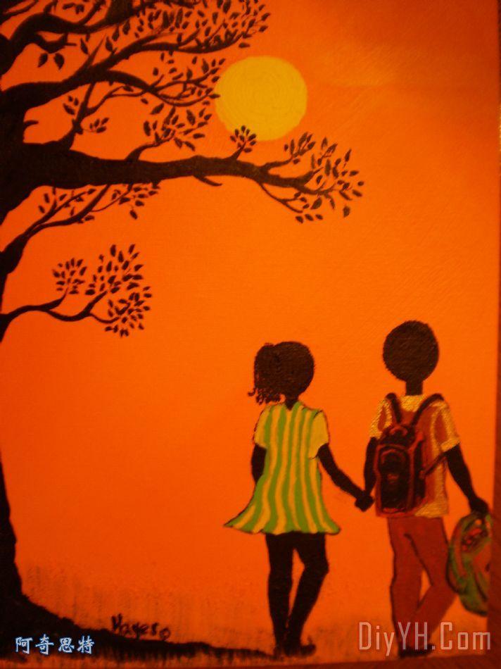 年轻的爱系列 - 走回家 - 年轻的爱系列 - 走回家装饰画