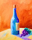 蓝瓶装饰画