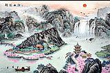 锦绣山河装饰画