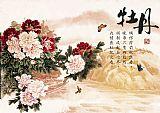 牡丹花装饰画