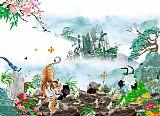中国山水画装饰画