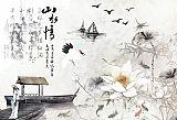 山水情中国水墨画装饰画集5837