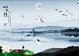中国风画册页面装饰画集5837