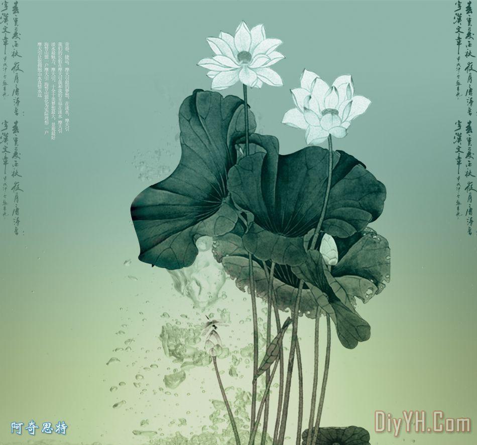 中国风 怀旧 古典 水莲  相关分类:美克美家简欧风格现代风格田园风格