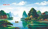 桂林山水装饰画集5837