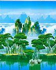 山水风景装饰画