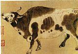 奶牛装饰画