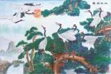 松龄鹤寿装饰画