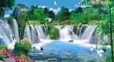 最新款 山水瀑布装饰画