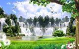自然风景装饰画
