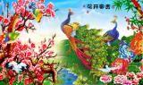 青山 - 中堂画山水 壁画