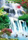 瀑布 - 山水风景画(瀑布)