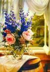 油画 花卉 装饰画装饰画