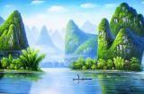 青山 - 桂林油画