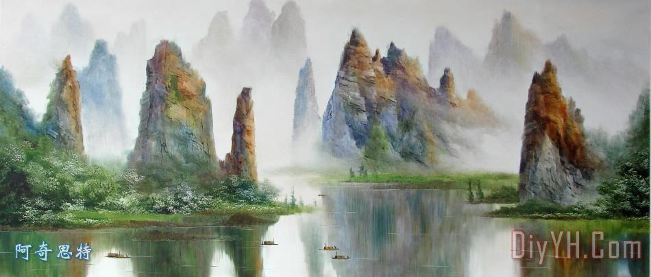 桂林山水 - 桂林山水装饰画