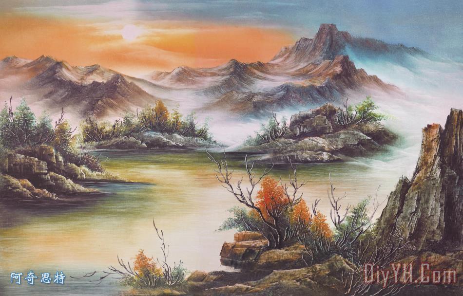 中堂壁画 - 中堂壁画装饰画