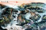 山河锦绣装饰画