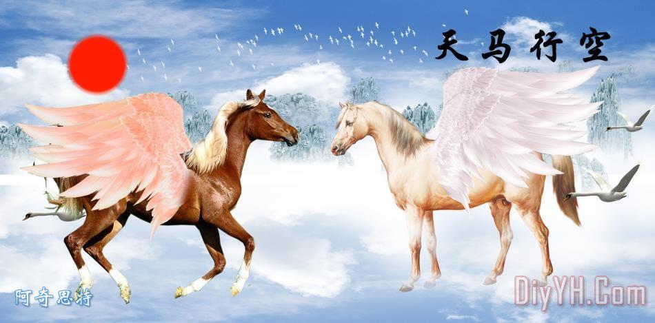 八骏马 - 八骏马装饰画
