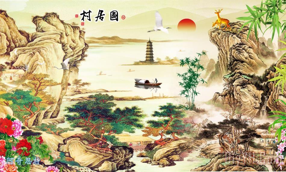 山水画 - 山水画装饰画