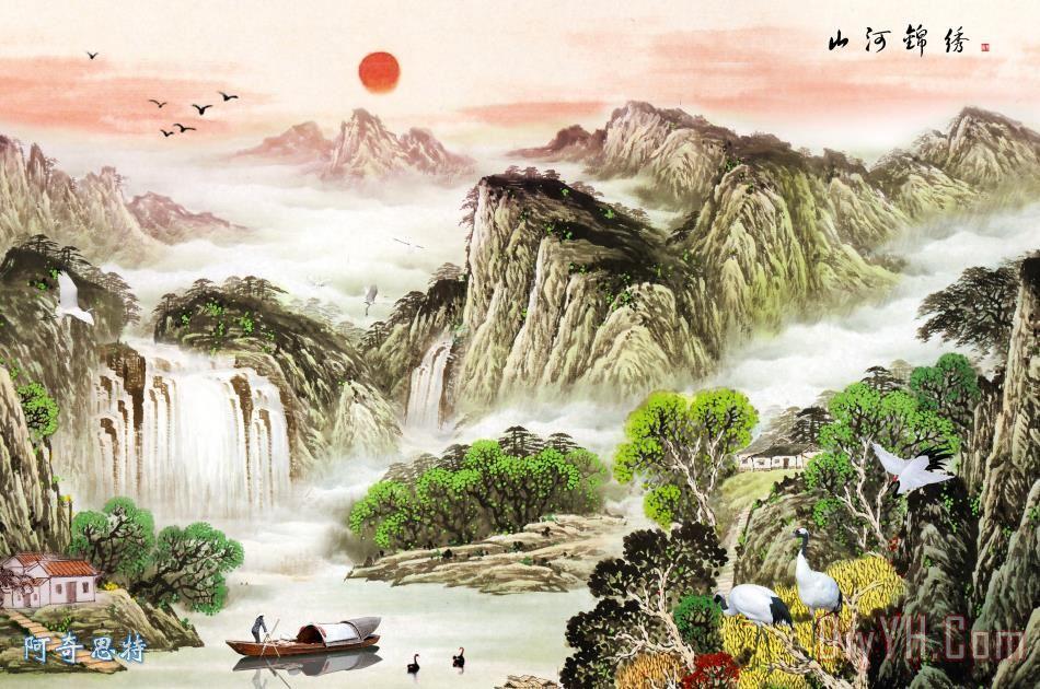 山水装饰画 - 山水装饰画装饰画
