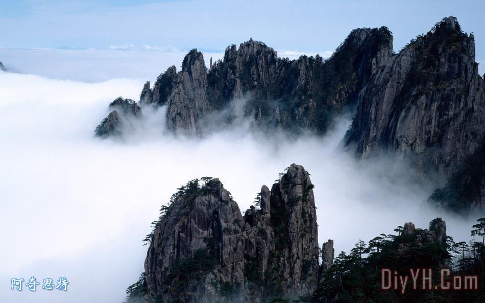 山水云风景 - 山水云风景装饰画
