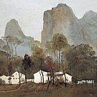 桂林山村装饰画