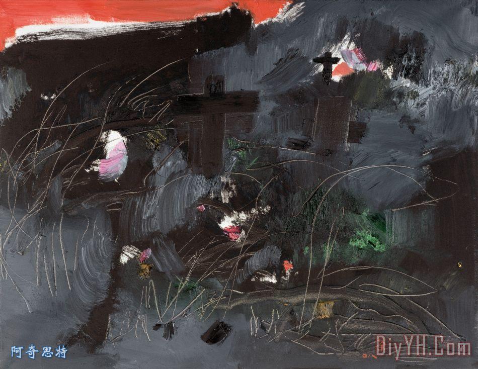 血河 - 吴冠中血河装饰画